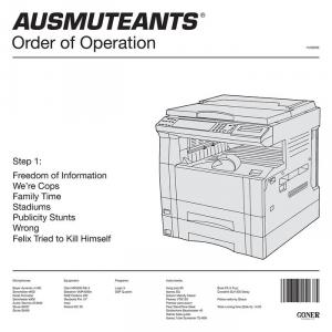 Ausmuteants - Order of Operation lp BLACK VINYL (Goner Records)